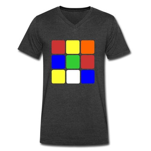 cubers - Men's V-Neck T-Shirt by Canvas