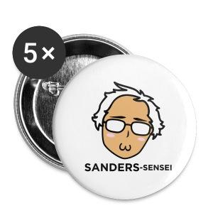 Sanders-sensei Button 5-Pack - Large Buttons