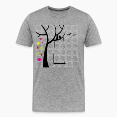Birds in tree T-Shirts