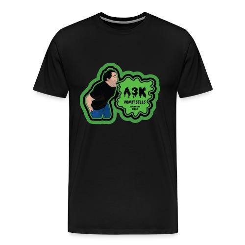 A3k Vomit Alert Shirt - Men's Premium T-Shirt