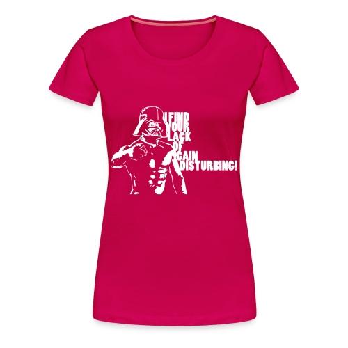 Darth Vader Gain | Premium T-Shirt | Women - Women's Premium T-Shirt