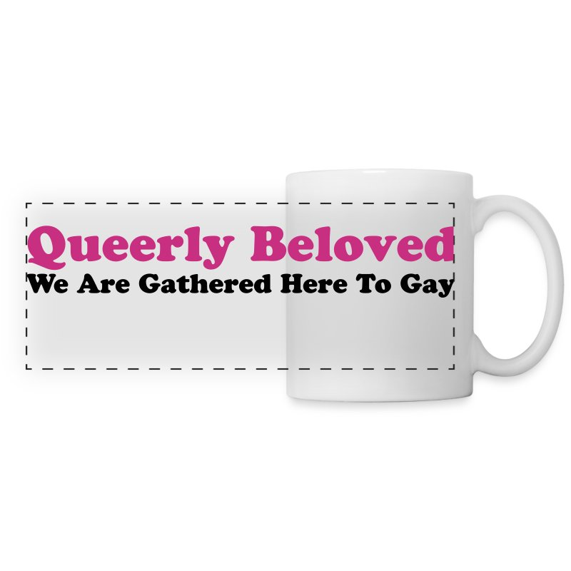 Queerly Beloved - Mug - Panoramic Mug