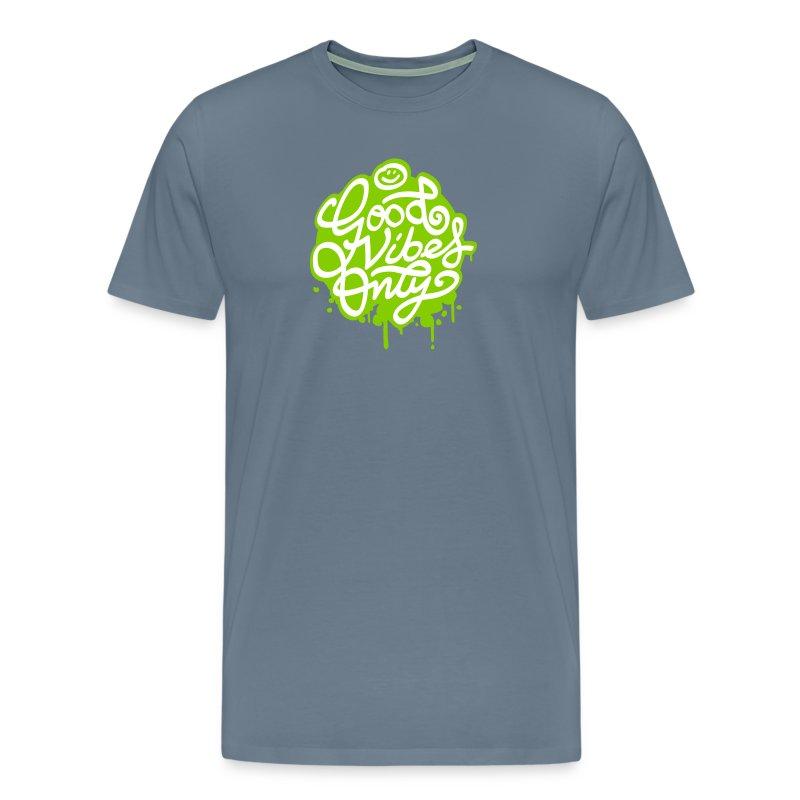 Good vibes painted - Men's Premium T-Shirt