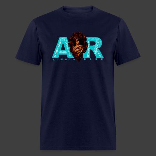 Teal & Navy Always Rare Languages T-Shirt - Men's T-Shirt