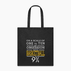 basketball obsession Bags & backpacks