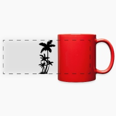 Palm trees Mugs & Drinkware