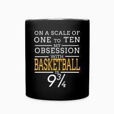 basketball obsession Mugs & Drinkware