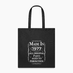 made in 1977 birthday Bags & backpacks