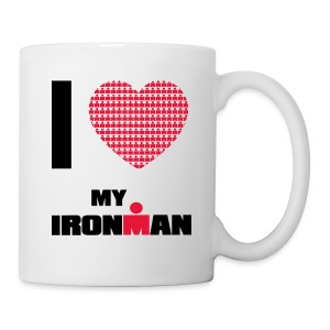 I Heart My Ironman Coffee/Tea Mug - Coffee/Tea Mug