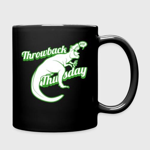 Throwback Thursday T-Rex - Full Color Mug