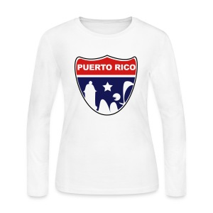 Puerto Rico Road - Women's Long Sleeve Jersey T-Shirt
