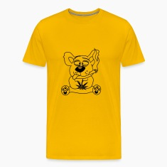 weed hemp cannabis pott joint pothead smoke pot sm T-Shirts