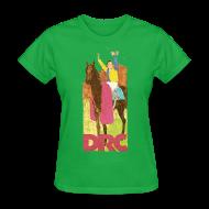 Women's T-Shirts ~ Women's T-Shirt ~ Vintage Detroit Race Course