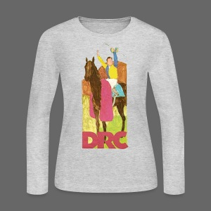 Vintage Detroit Race Course - Women's Long Sleeve Jersey T-Shirt