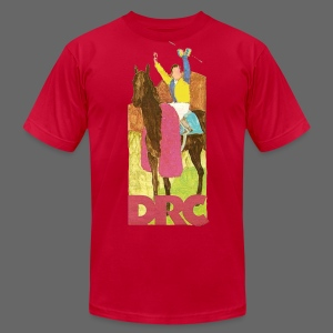 Vintage Detroit Race Course - Men's T-Shirt by American Apparel