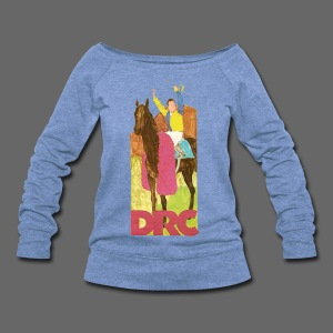 Vintage Detroit Race Course - Women's Wideneck Sweatshirt