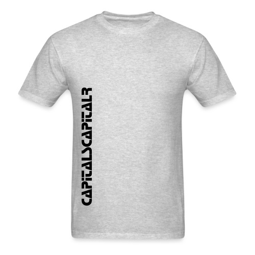 Capital S Capital R (Black Lettering) - Men's T-Shirt