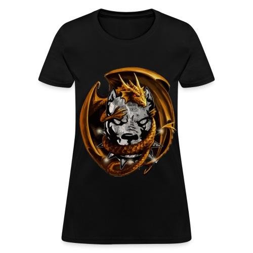 RUFF DRAGON KENNEL LADIES SHIRT - Women's T-Shirt