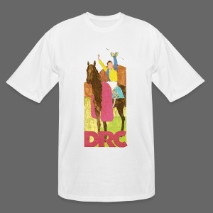 Vintage Detroit Race Course - Men's Tall T-Shirt