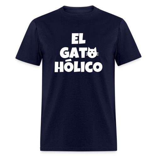 el gato holico unisex - Men's T-Shirt