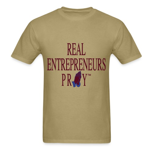 Men's REP Shirt (Khaki/Maroon/Blue) - Men's T-Shirt