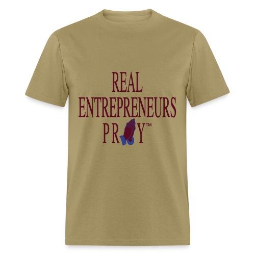 Men's REP Shirt (Khaki/Maroon/Blue) - Men's T-Shirt