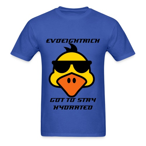 MENS TEE EVOEIGHTRICH GOT TO STAY HYDRATED - Men's T-Shirt