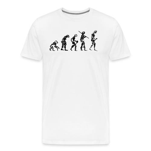 Male Evolution - Men's Premium T-Shirt