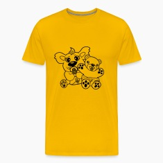 team crew brothers sibling 2 bears twins baby chil T-Shirts