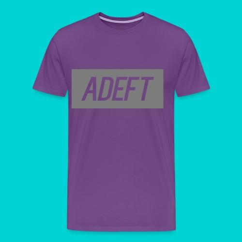Purple Shirt - Men's Premium T-Shirt