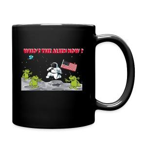 Who's The Alien - Full Color Mug