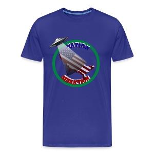Nation Abduction - Men's Premium T-Shirt
