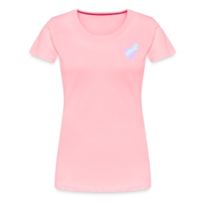 Womens Light Pink T-Shirt With GabbiGoose Logo - Women's Premium T-Shirt