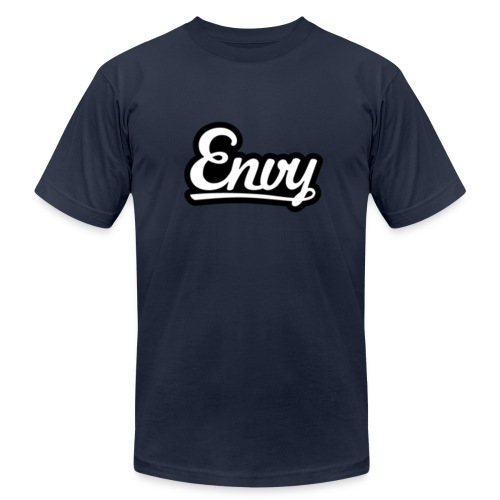EnvyVII - Envy Text Logo - Men's Fine Jersey T-Shirt