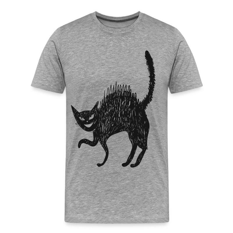 Line Drawing T Shirt : Line art painted cat t shirt spreadshirt