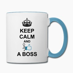 Keep Calm And Fuck Like A Boss Mugs & Drinkware