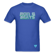 T-Shirts ~ Men's T-Shirt ~ RON G BEATS T SHIRT BY RONALRENEE