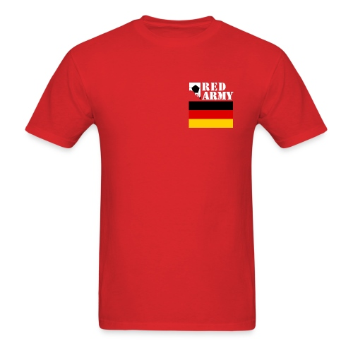 GERMANY Red Army League of Nations Men's T-Shirt - Men's T-Shirt