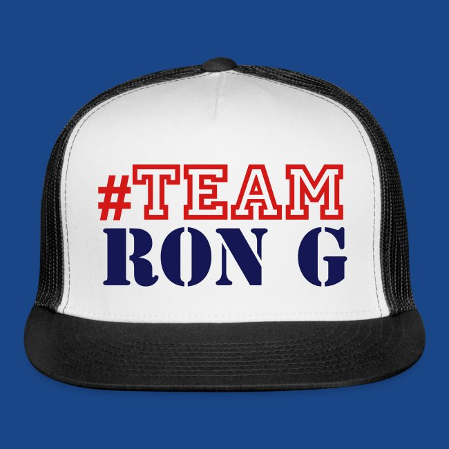 TEAM RON G CAP