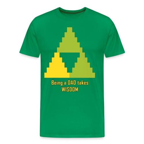 Dad's Wisdom Premium tee - Men's Premium T-Shirt