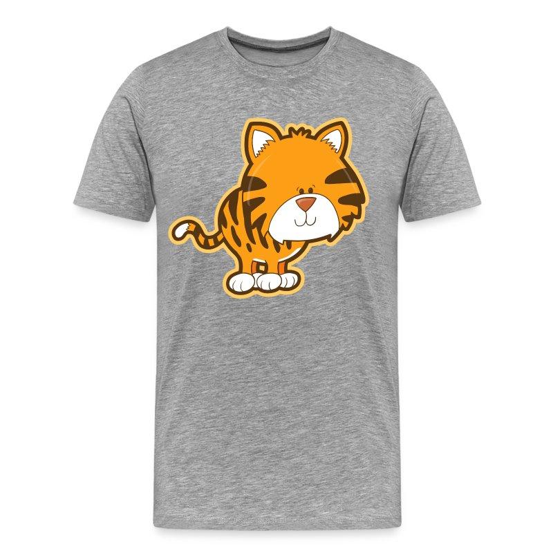 Cute baby tiger T-Shirt | Spreadshirt Cute Siberian Tiger Shirt