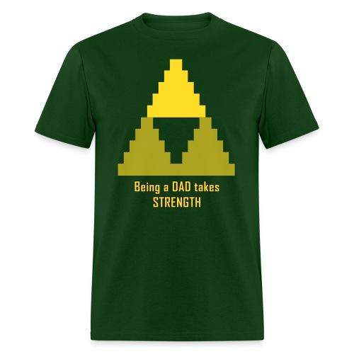 Dad's Strength Basic Tee - Men's T-Shirt