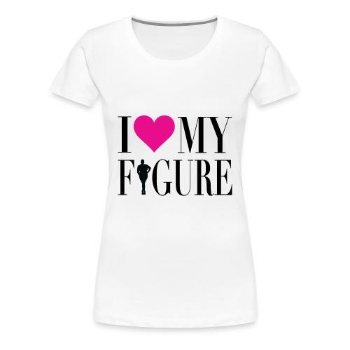 NEW DESIGN! I Love My Figure Premium T-shirt - Women's Premium T-Shirt