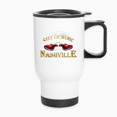 Nashville. City of music Mugs & Drinkware