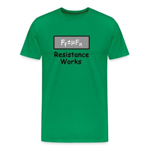 Friction - Men's Premium T-Shirt