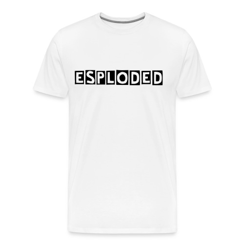 Esploded T-Shirt  - Men's Premium T-Shirt