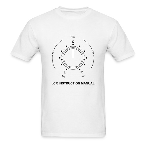 LCR Instruction Manual - Men's T-Shirt
