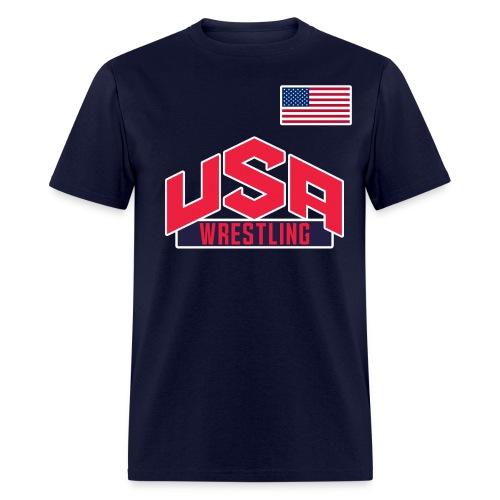 Team USA Wrestling Tee - Men's T-Shirt