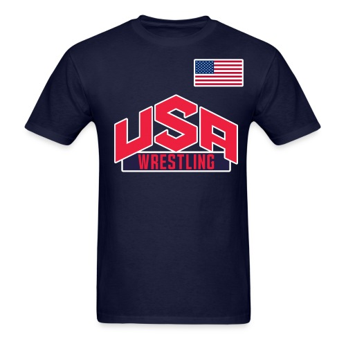 Team USA Wrestling Tee - Men's T-Shirt
