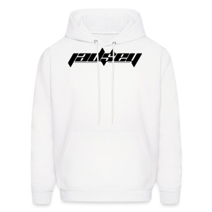 Jadsey Black Logo White Hoodie - Men's Hoodie